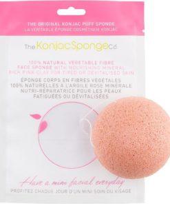 konjac sponge con argilla rosa