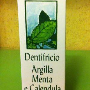 Dentifricio biologico Argilla e Menta - Tea Natura