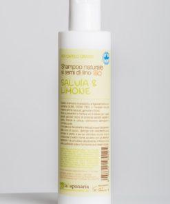 Shampoo Salvia e Limone per capelli grassi - laSaponaria