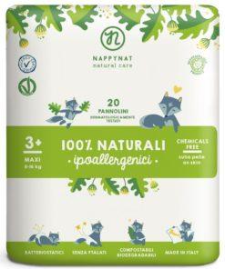 Pannolini ecologici compostabili maxi