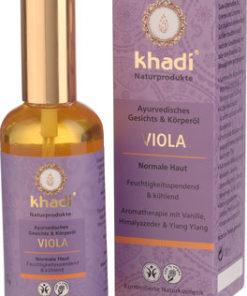 Viola - Olio Viso & Corpo Khadi 100 ml