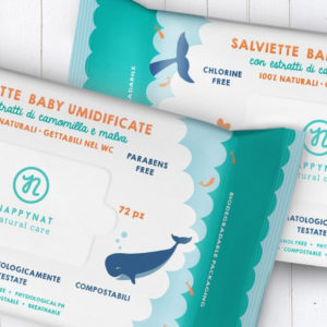 Salviette umidificate baby WC frendly - Nappynat