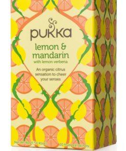 Tisana biologica Limone e mandarino - Pukka