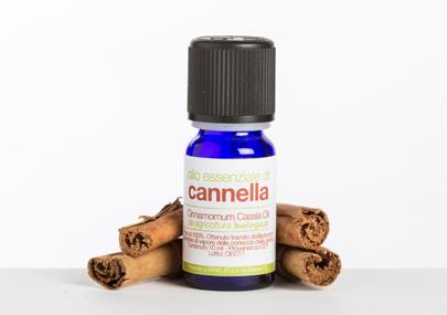 cannella olio essenziale bio