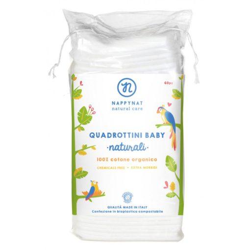 Quadrotti Baby Cotone Bio