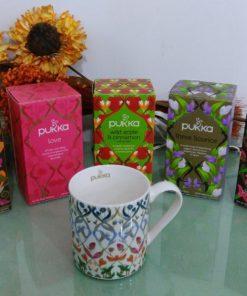 Pukka tazza mug Herbal collection