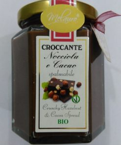 croccante Nocciola e Cacao - Crema spalmabile Bio