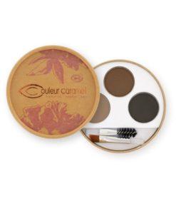 Kit sopracciglia brune 929 - Couleur Caramel