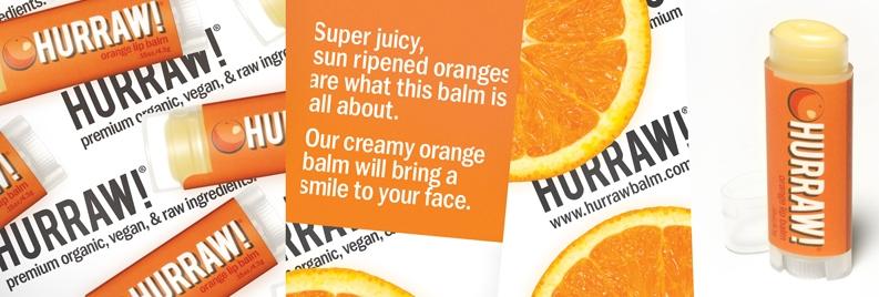 Burrocacao biologico Arancio - Hurraw!