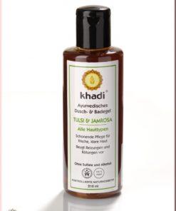 gel bagno e doccia-tulsi-jamrosa-khadi