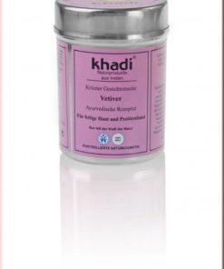 Vetiver - Maschera viso biologica in polvere Khadi