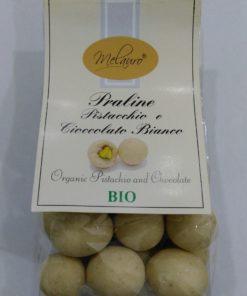 praline bio pistacchio e cioccolato bianco