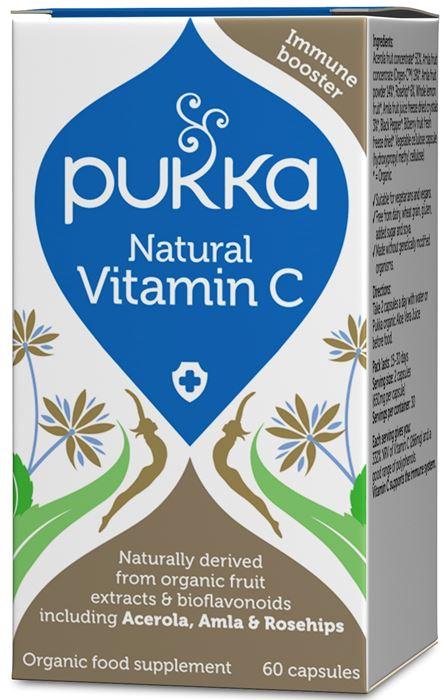 vitamina c naturale capsule pukka