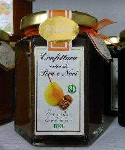 Confettura bio di pera e noci