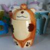 mug con coperchio orsacchiotto