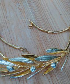girocollo ramoscello di ulivo