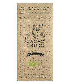 tavoletta di cioccolato crudo-alla-gianduia