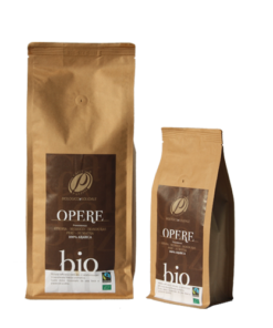 caffè biologico opere brown